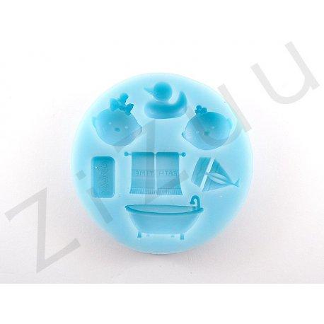 """Stampi per dolci in silicone a """"oggetti da bagno"""""""