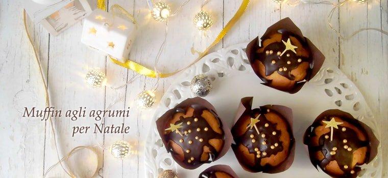 Muffin agli agrumi per Natale